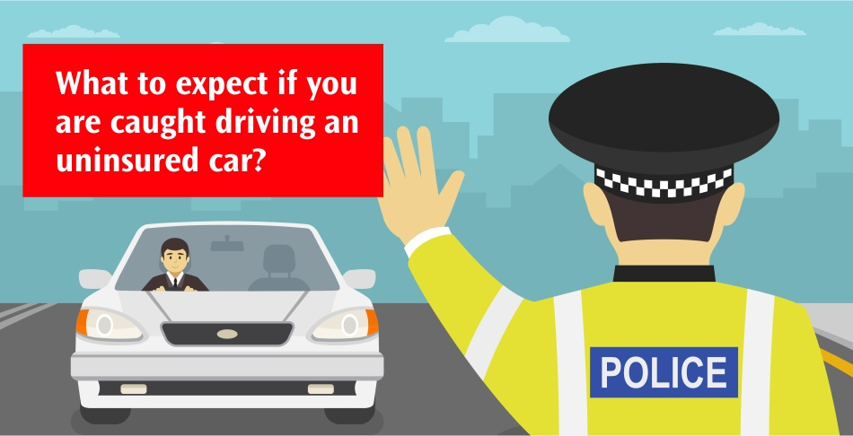 What to expect if you are caught driving an uninsured car