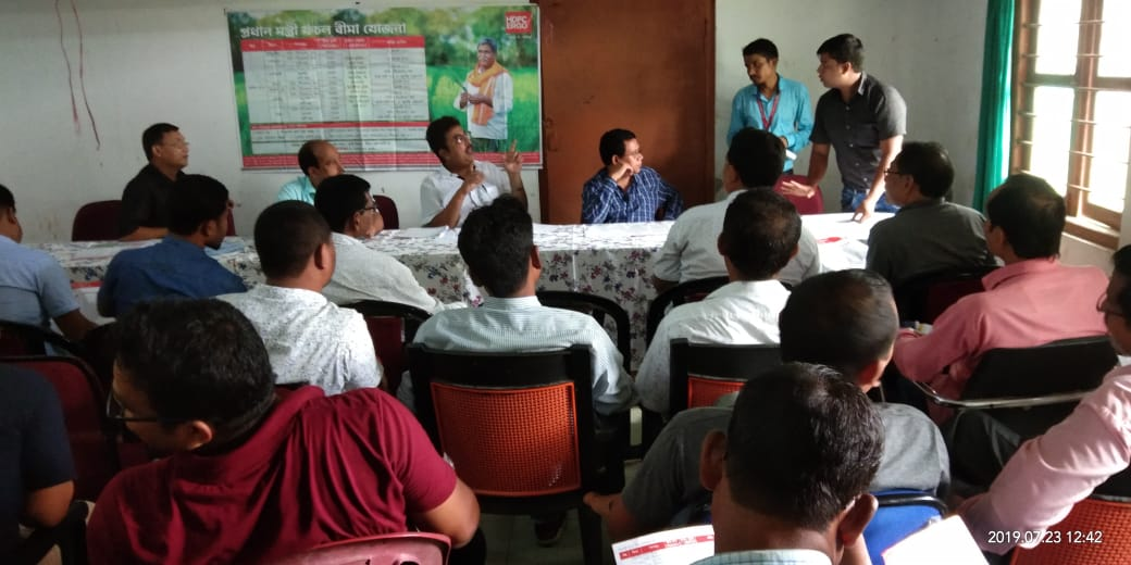 district level workshop at baksa assam