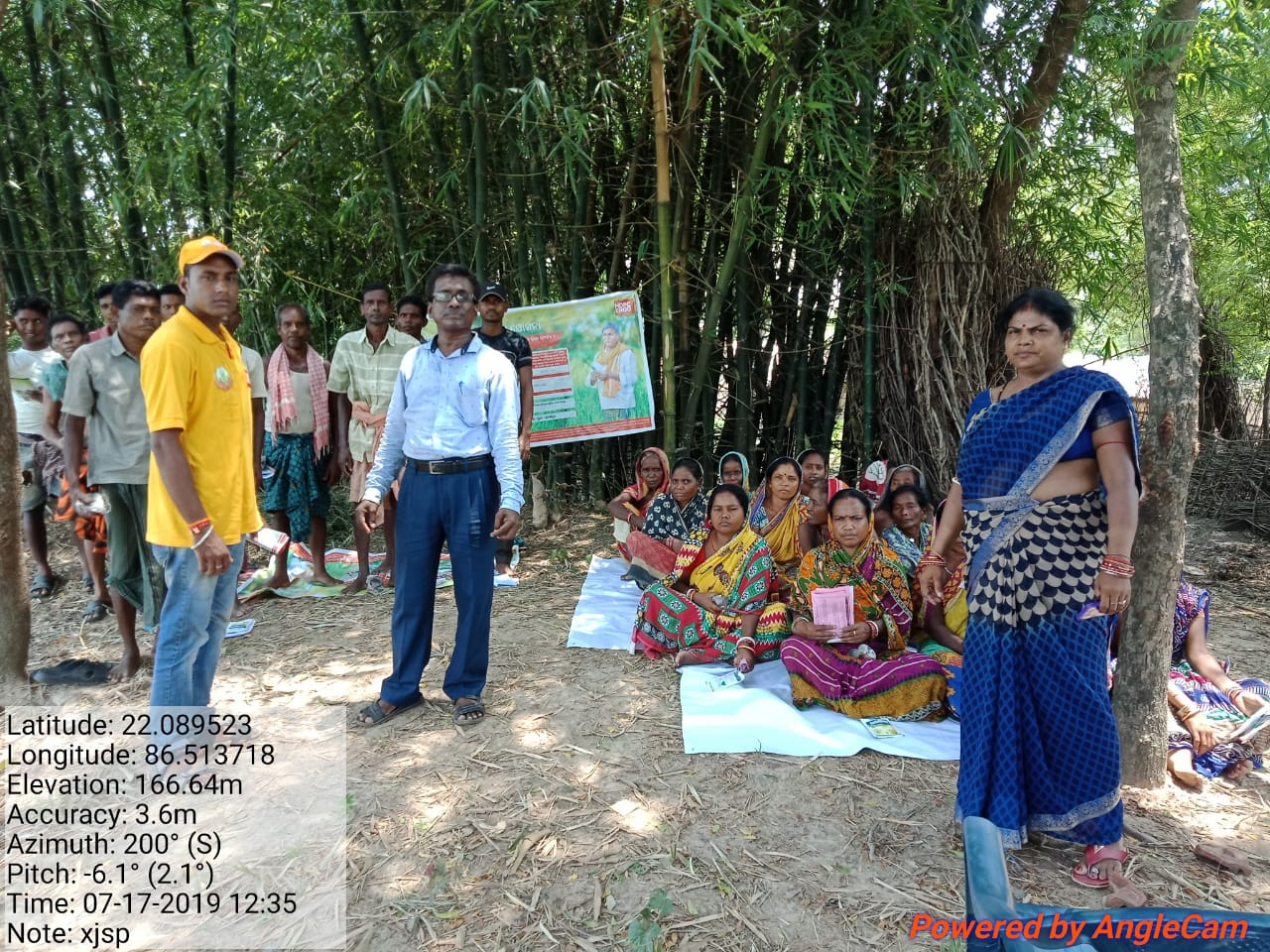women farmer meeting kandalia odisha