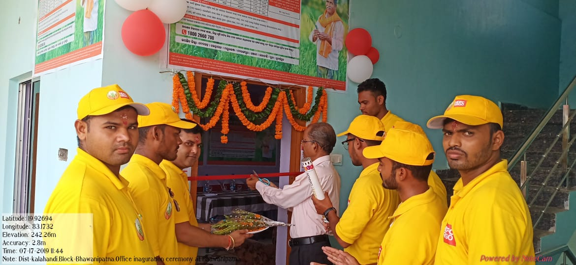 kalahandi office inauguration odisha